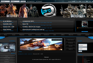 Website dfc-funclan.de desktop preview