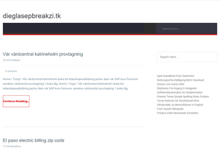 Website dieglasepbreakzi.tk desktop preview