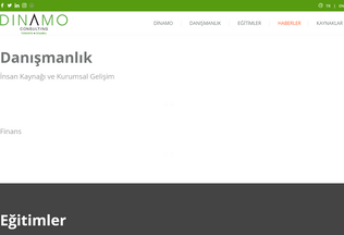 Website dinamo.co desktop preview