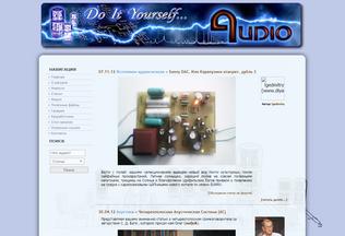 Website diyaudio.ru desktop preview