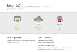 Website dj.versant.us desktop preview