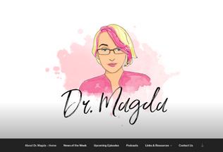 Website doctormagda.com desktop preview