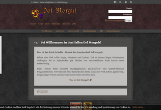 Website dolmorgul.de desktop preview