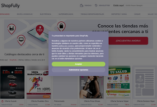Website dondelocompro.mx desktop preview