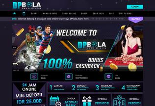 Website dpbola.co desktop preview