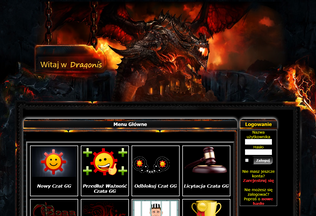 Website dragonis.pl desktop preview