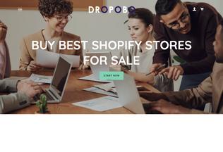 Website dropobo.com desktop preview