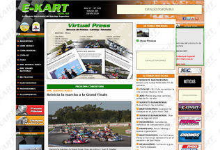 Website e-kart.com.ar desktop preview