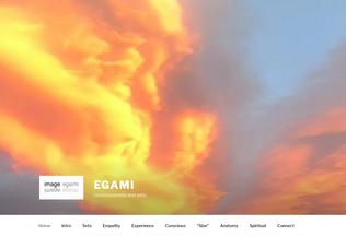 Website egami.org desktop preview