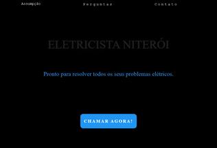 Website eletricistaniteroi.com.br desktop preview