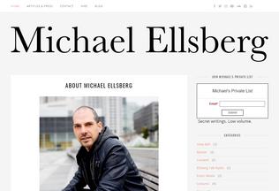 Website ellsberg.com desktop preview