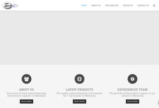 Website emanuel-tech.com.my desktop preview
