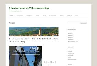 Website enfantsamisvdb.fr desktop preview