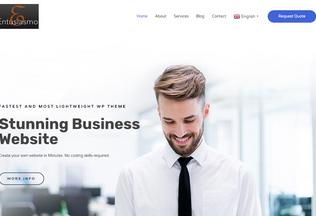 Website entusiasmo.biz desktop preview