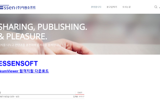 Website essensoft.net desktop preview