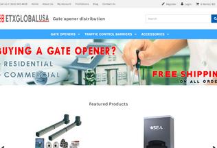 Website etxglobalusa.com desktop preview