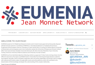 Website eumenia.eu desktop preview