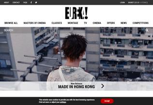 Website eurekavideo.co.uk desktop preview