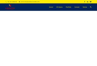 Website euroelettra.info desktop preview
