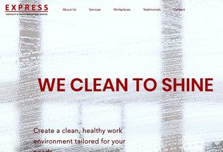 Website expresshospitality.org desktop preview