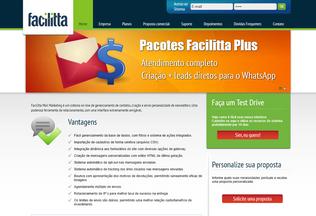 Website facilitta.com.br desktop preview