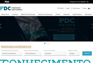 Website fdc.org.br desktop preview