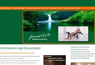 Website femmestyle.de desktop preview