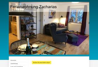 Website ferienwohnung-bad-hersfeld.de desktop preview