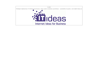 Website fiesta.lt desktop preview