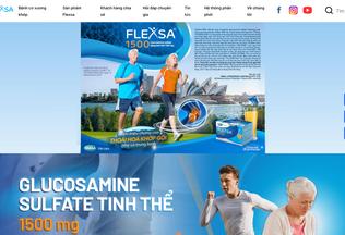 Website flexsa.vn desktop preview
