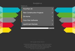 Website floorplan.cz desktop preview