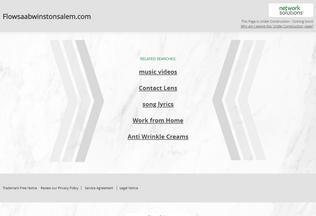 Website flowsaabwinstonsalem.com desktop preview