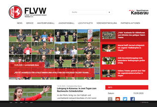 Website flvw.de desktop preview