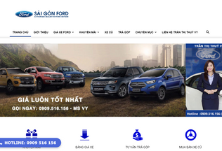 Website ford-saigon.net desktop preview