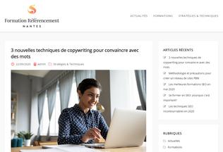 Website formation-referencement-nantes.fr desktop preview