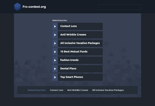 Website frc-contest.org desktop preview