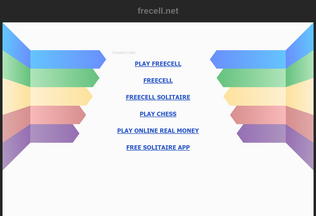 Website frecell.net desktop preview