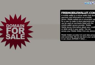 Website freemobilewallet.com desktop preview