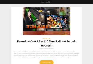 Website freespinjoker123.net desktop preview
