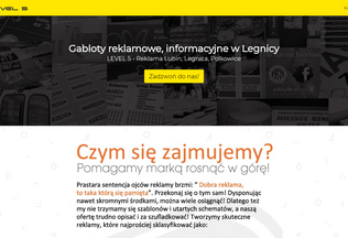 Website gaboty.legnica.biz desktop preview
