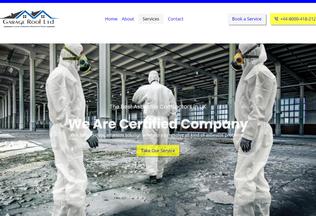 Website garageroof.co.uk desktop preview