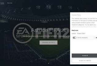 Website generateur-de-fifa-21.jimdosite.com desktop preview