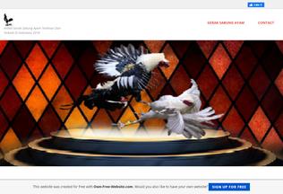 Website geraksabungayam.page.tl desktop preview