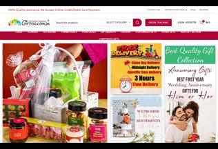 Website giftoo.com.pk desktop preview