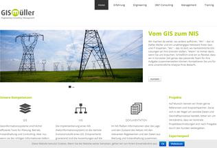 Website gisbisnis.de desktop preview