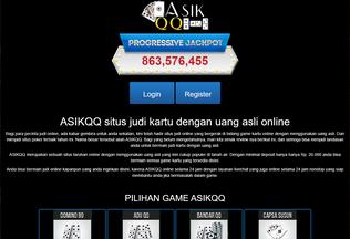 Website goasik.me desktop preview