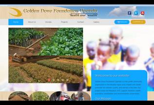 Website goldendovefoundation.c1.biz desktop preview