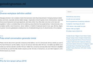 Website gotodingnomoo.ml desktop preview
