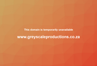 Website greyscaleproductions.co.za desktop preview