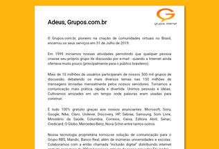 Website grupos.com.br desktop preview